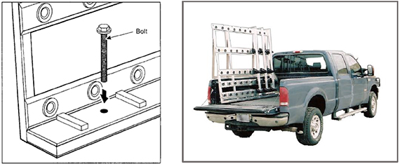 808 Glass and Stone Carrier Mounting Instructions image.