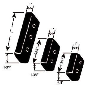 Barkow baseplate pads image 1.