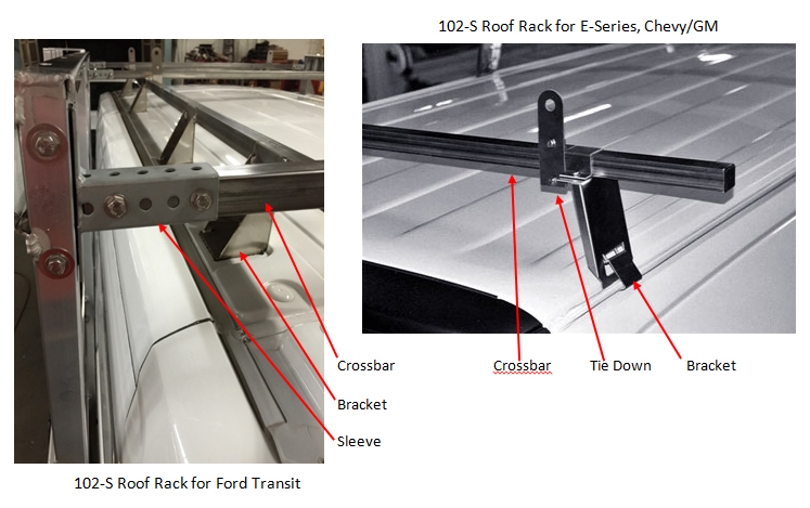 Barkow roof racks image.
